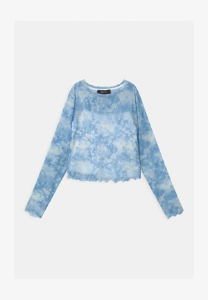 TIE DYE  - Long sleeved top - blue