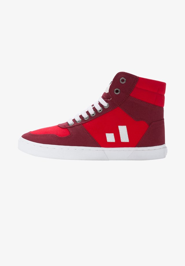 HIRO COLLECTION 19 - Skate shoes - red