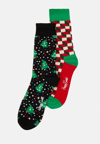 HOLIDAY SOCKS GIFT SET 2 PACK - Ponožky - multi
