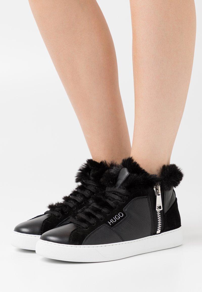 HUGO - Zapatillas altas - black