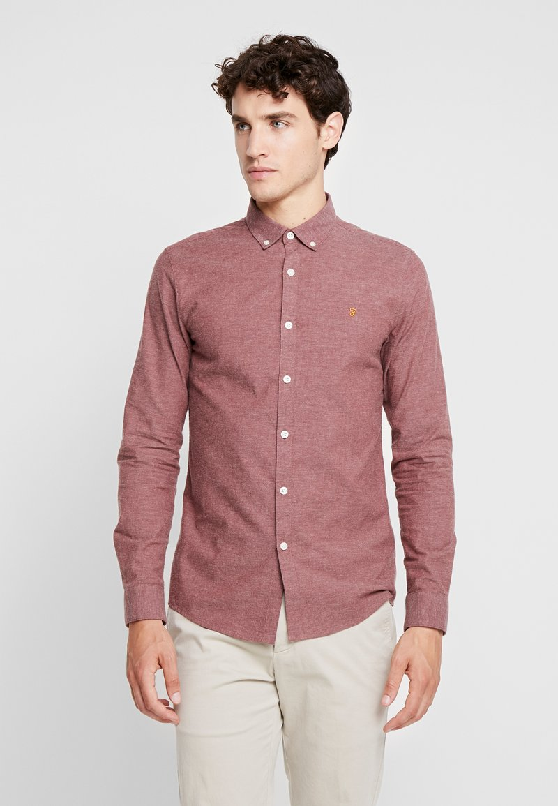 Farah - STEEN  - Shirt - dark mauve