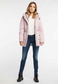 DreiMaster - Winter coat - rosa melange - 1