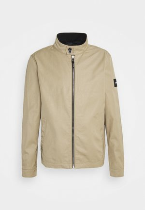ICONIC HARRINGTON JACKET - Kevyt takki - travertine
