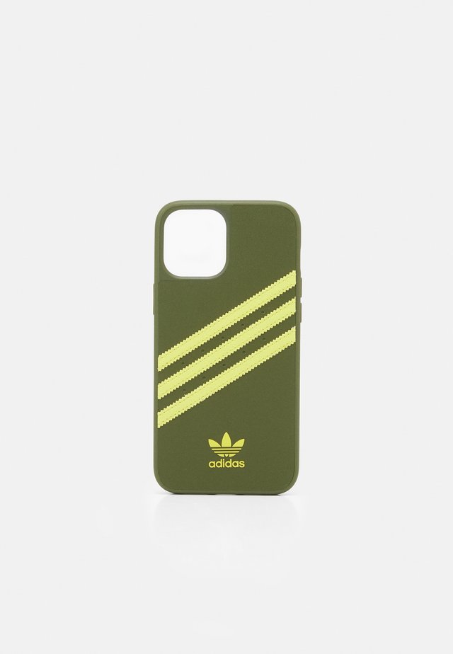 IPHONE 12 PRO MAX - Etui na telefon - wild pine/acid yellow