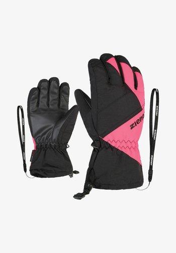 AGIL - Gloves - schwarz/pink