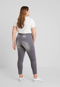 Ciso - PANT HEAVY WASHED - Jeans Skinny Fit - denim grey - 2