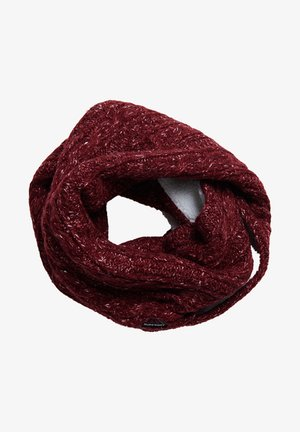 GRACIE CABLE - Snood - fuschia tweed