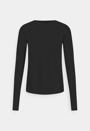 LINN - Långärmad tröja - black