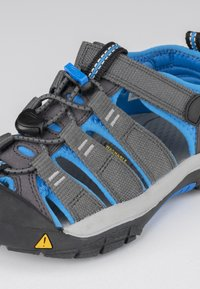 Keen - NEWPORT - Walking sandals - magnet/brilliant blue - 5