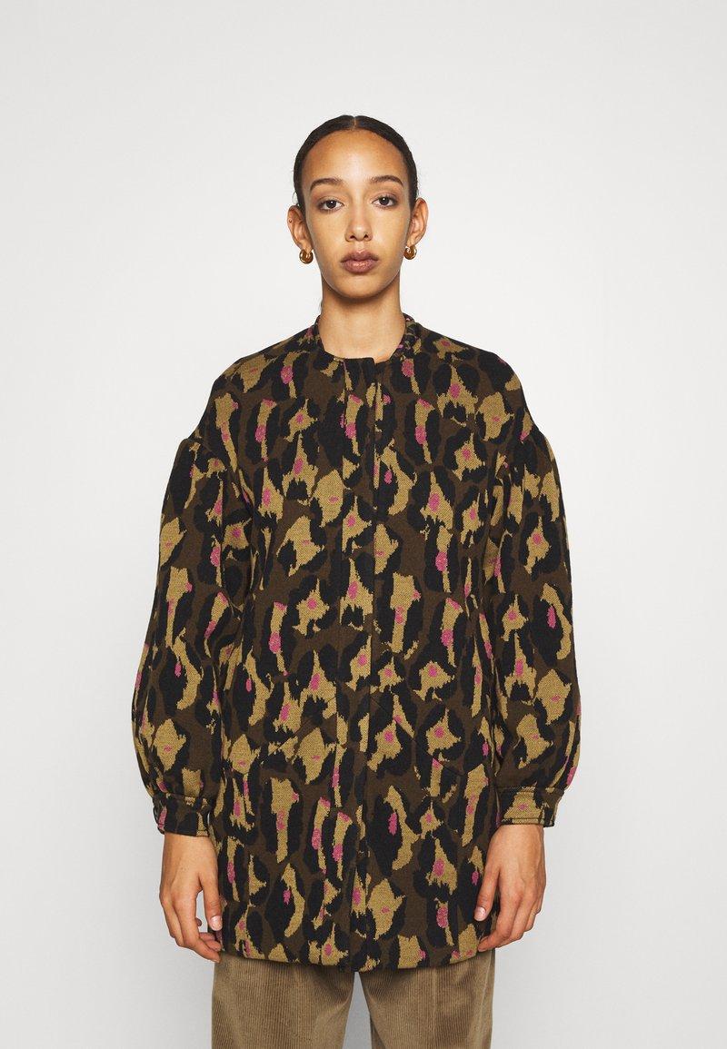 Diane von Furstenberg - CARMELLA COAT - Classic coat - cocoa brown