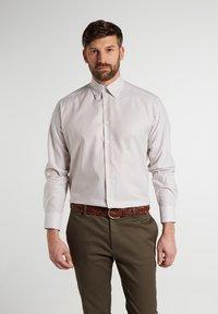 Eterna - COMFORT FIT - Shirt - beige/weiss - 0