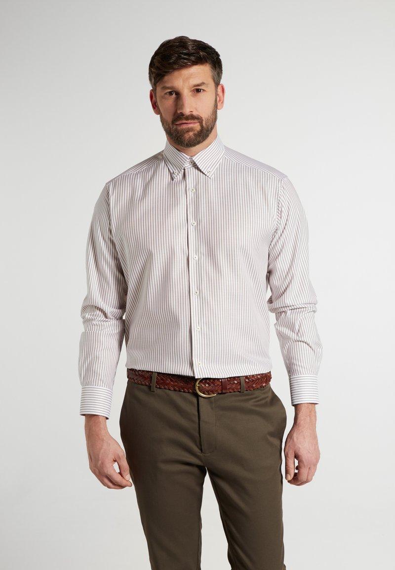 Eterna - COMFORT FIT - Shirt - beige/weiss