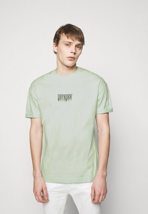 THILO FADE - T-shirt med print - green