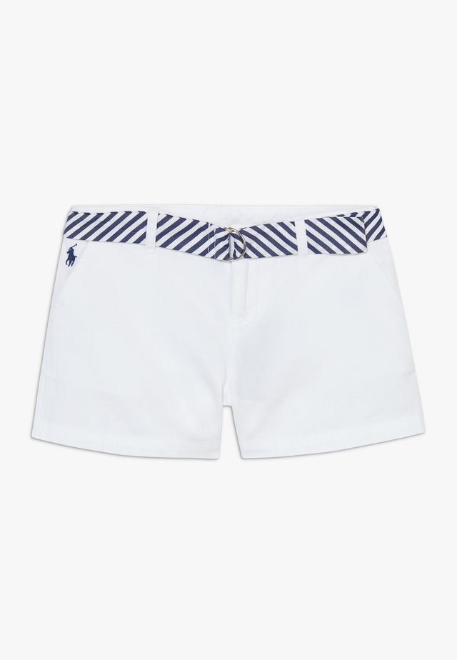SOLID BOTTOMS - Shorts - white
