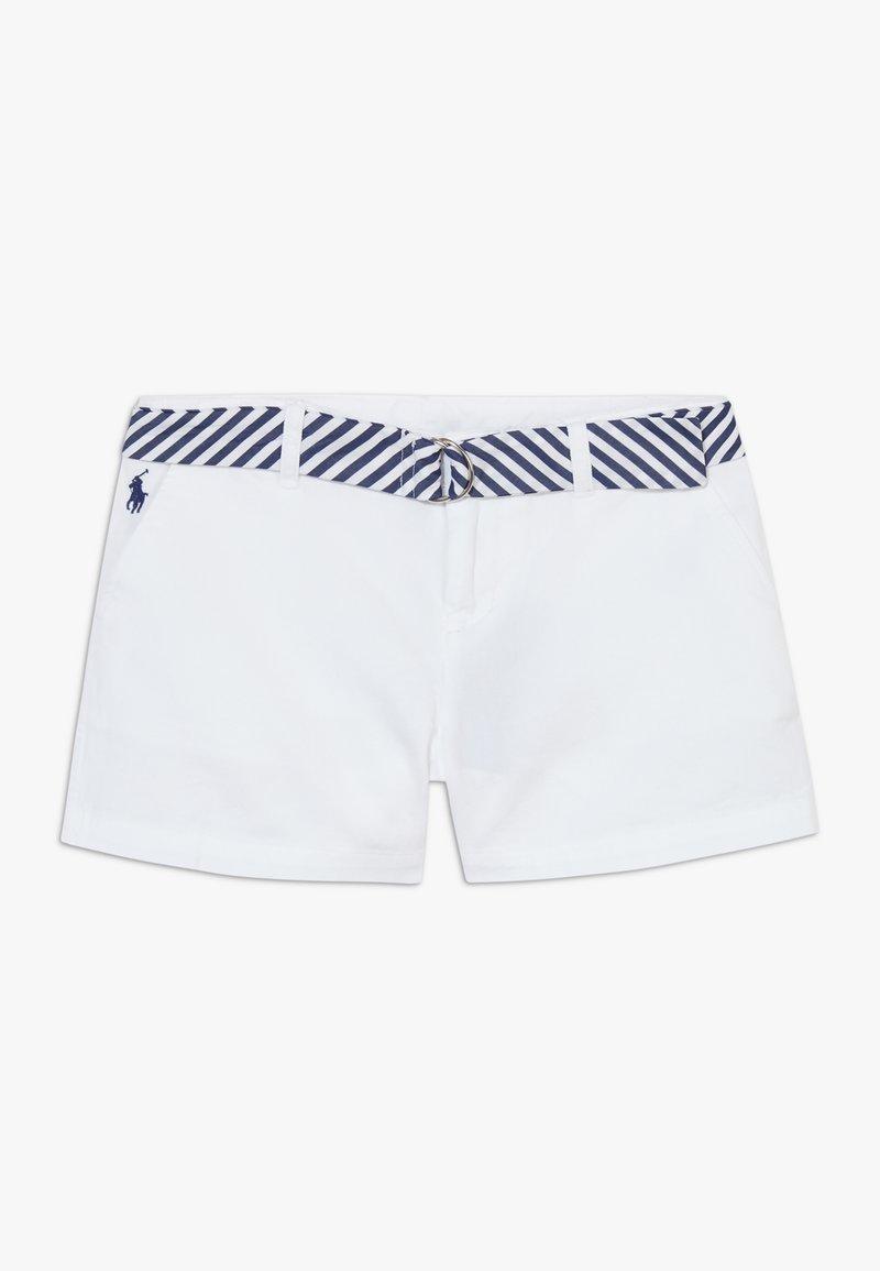 Polo Ralph Lauren - SOLID BOTTOMS - Kraťasy - white