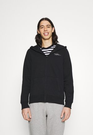 SPORT - Zip-up hoodie - black