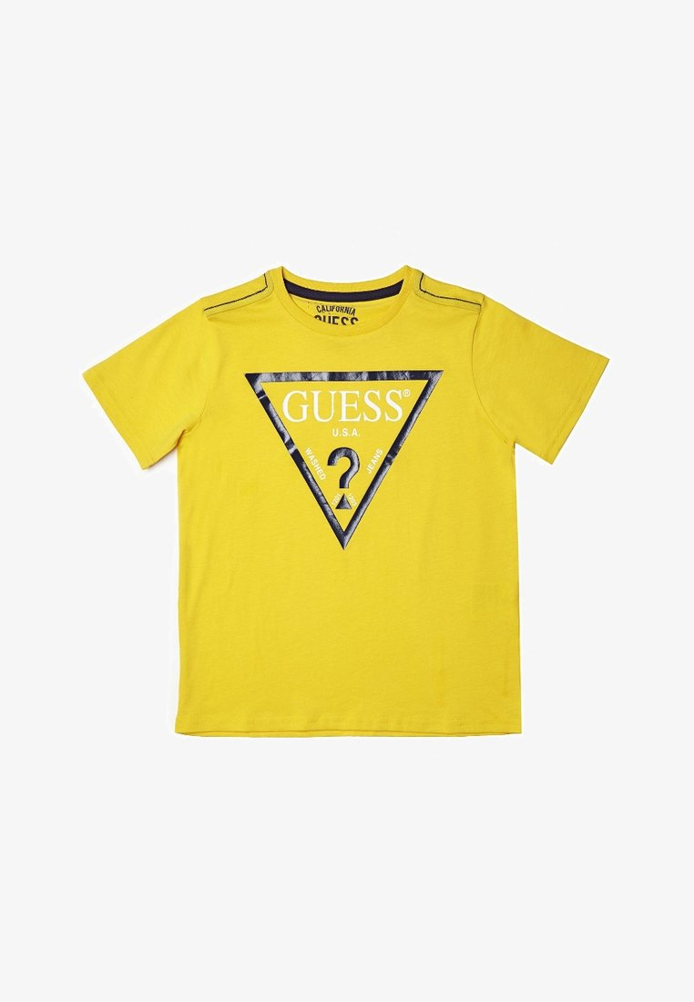 Guess - CORE JUNIOR  - T-shirt z nadrukiem - gelb