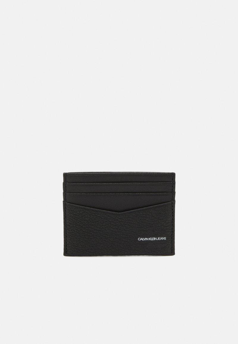Calvin Klein Jeans - CARDCASE - Plånbok - black