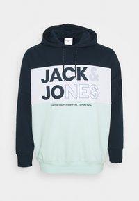 Jack & Jones - JJARID HOOD - Hoodie - bleached aqua - 0
