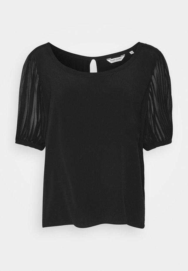 OMIDALA - T-shirts basic - noir