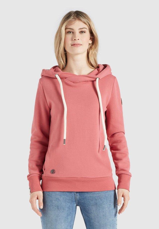 TESIA - Bluza z kapturem - rosa