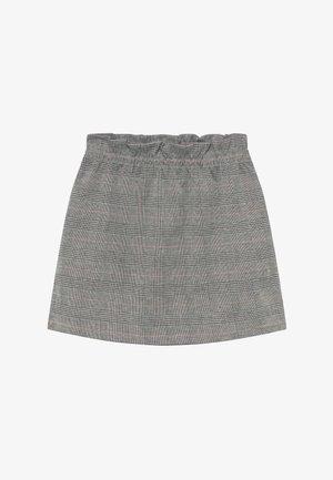 TEENS GLENCHECK - Áčková sukně - schwarz