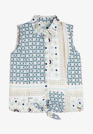 KNOT - Overhemdblouse - mehrfarbig, weiß