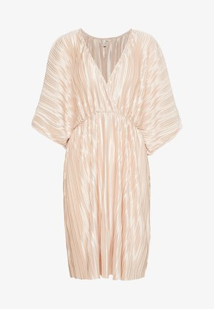 PLEATED KIMONO DRESS - Cocktail dress / Party dress - champagne