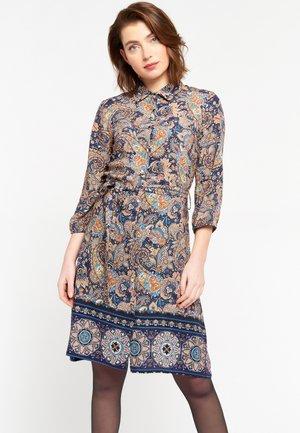 Shirt dress - navy blue