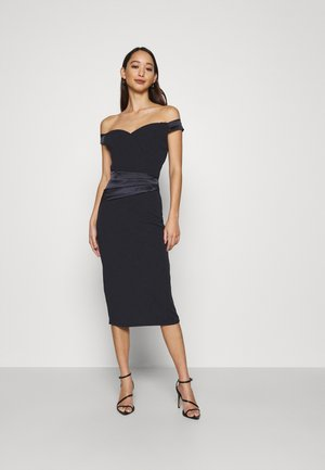 SELENE BAND MIDI - Jersey dress - navy