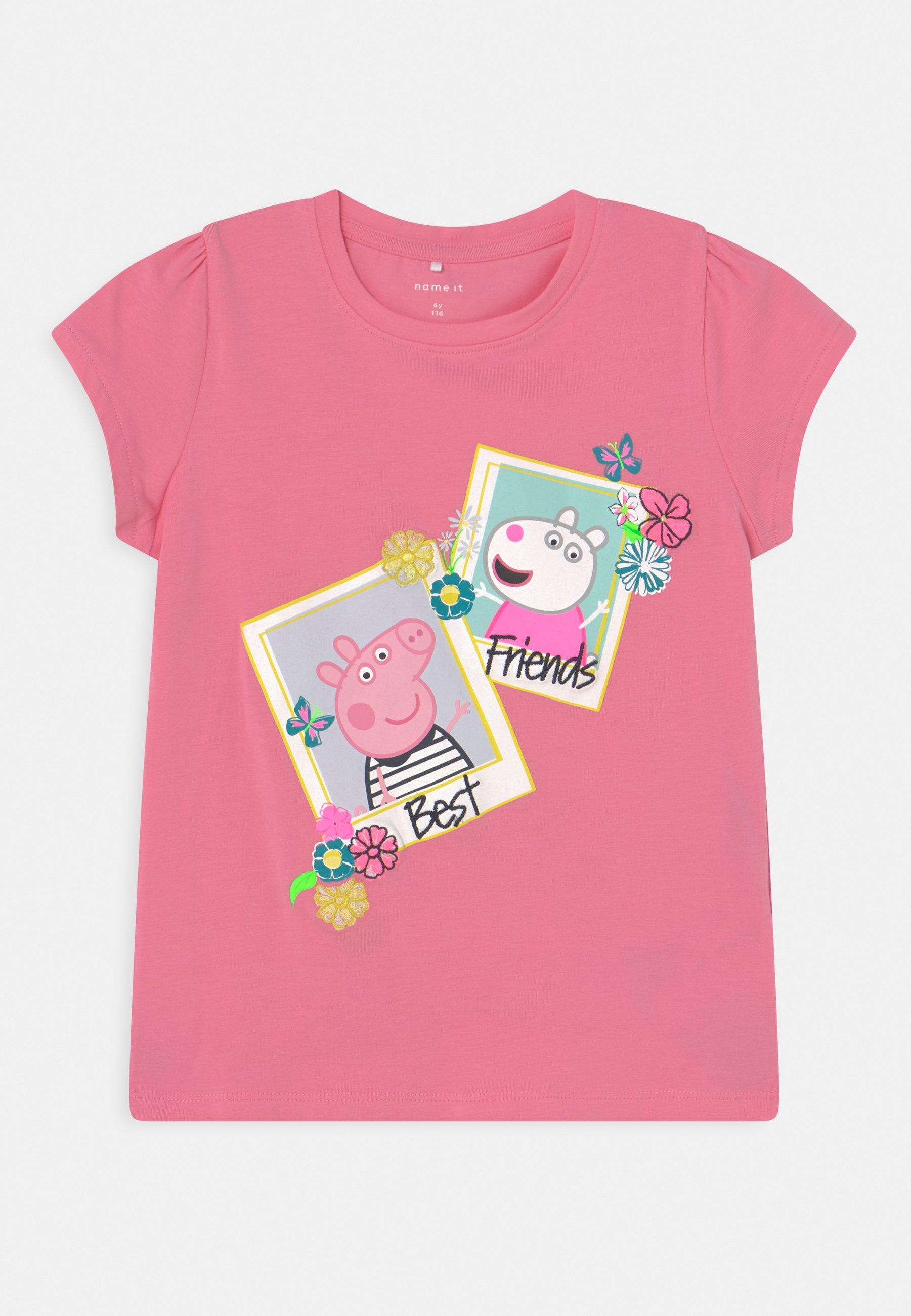 Kids NMFPEPPAPIG MEGAN - Print T-shirt