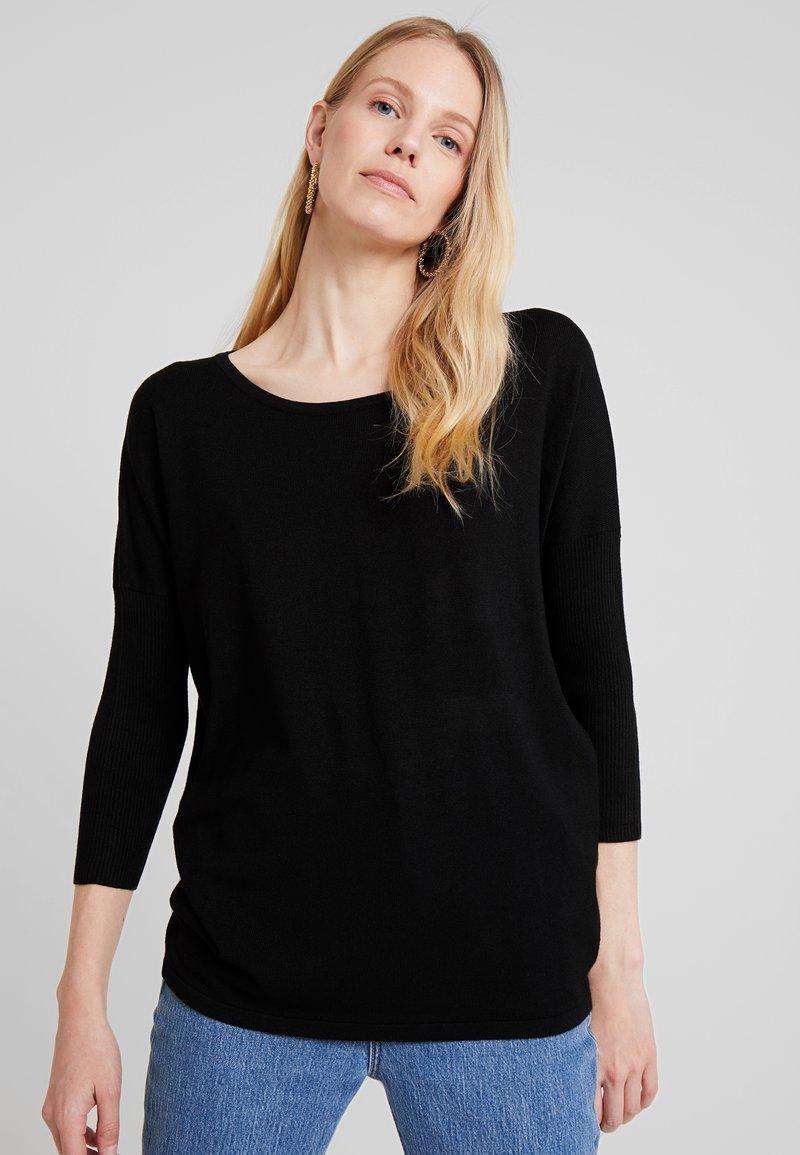 Freequent - Jersey de punto - black