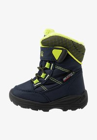 Kamik - STANCE - Winter boots - navy/lime/marine/citron - 1
