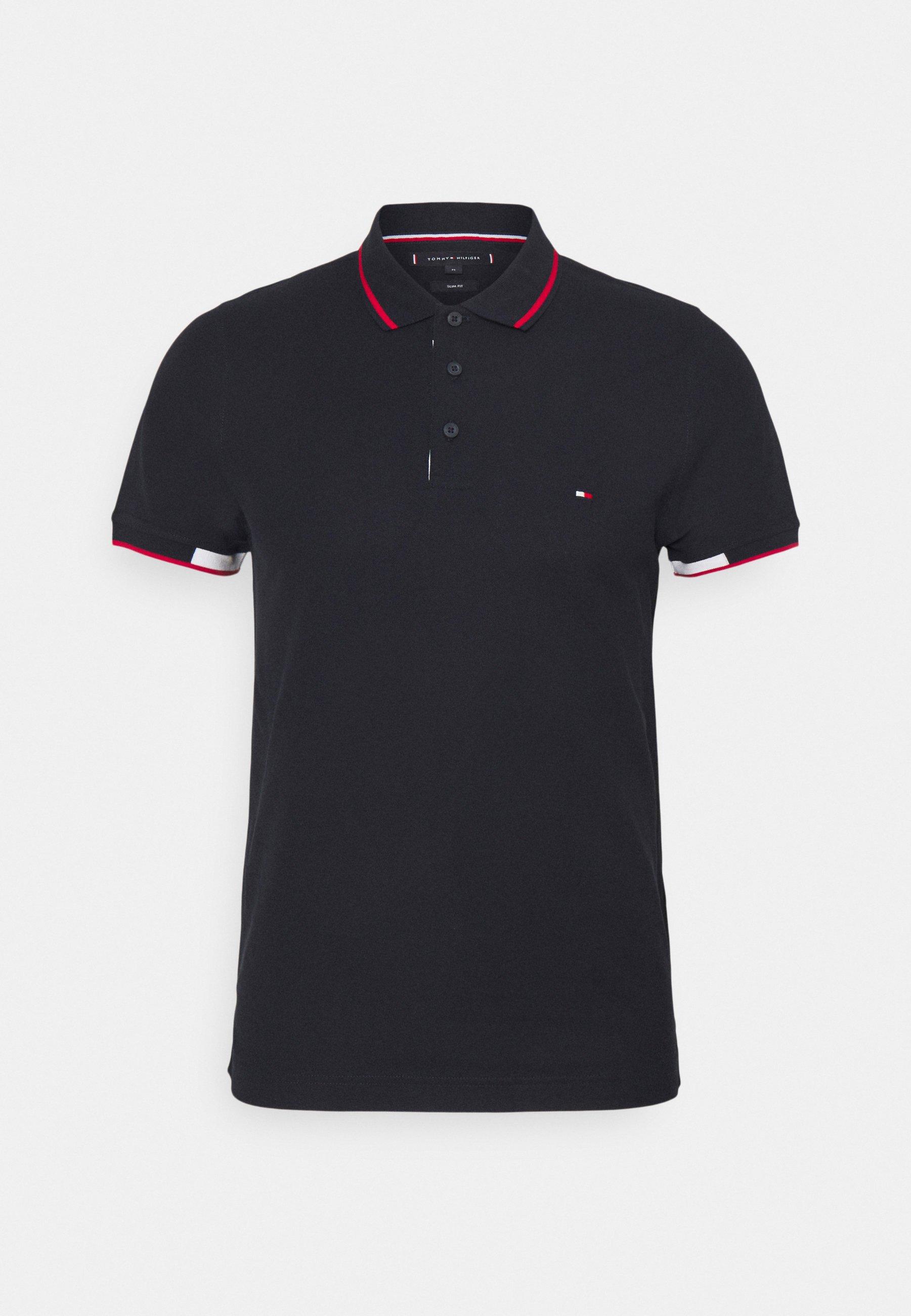 Men PLACKET DETAIL SLIM FIT - Polo shirt