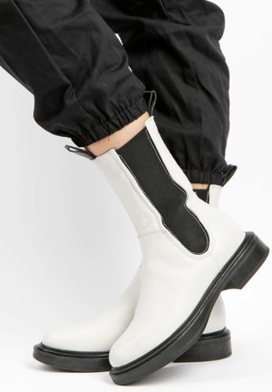 Ankle boots - panna