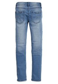 s.Oliver - SURI  - Straight leg jeans - blue denim stretch - 1