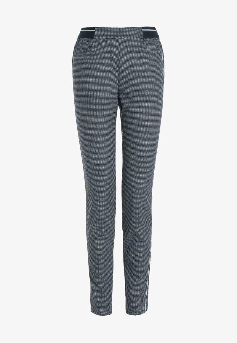 Frank Walder - MIT ABGERUNDETEN EINGRIFFTASCHEN - Trousers - grey