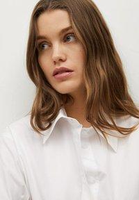 Mango - Košilové šaty - white - 4