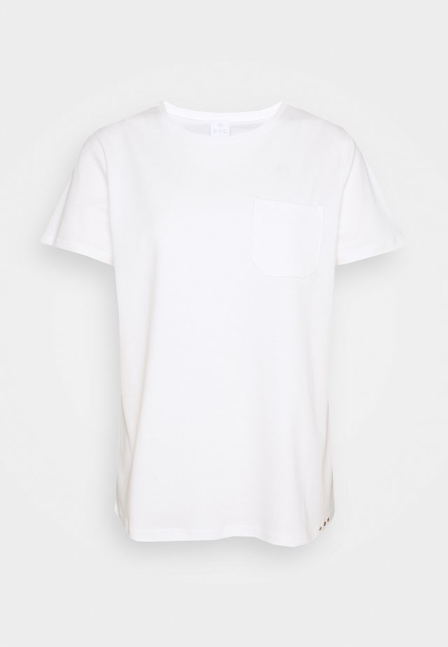 T-shirt imprimé - pristine white
