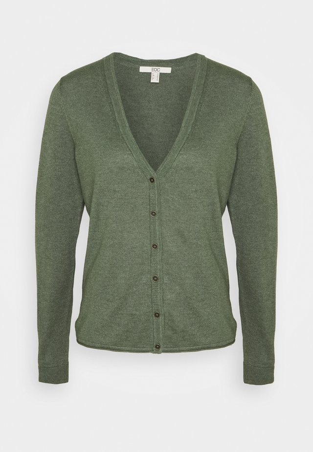 BASIC - Cardigan - khaki green