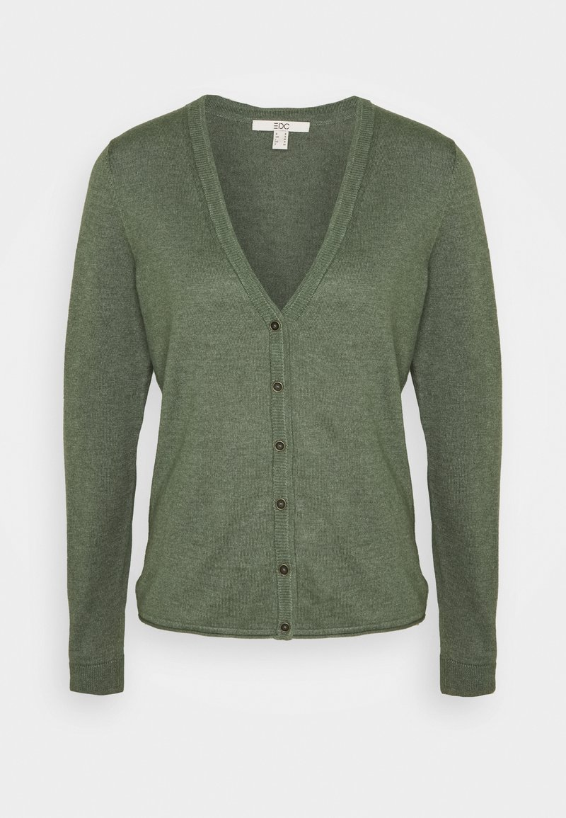 edc by Esprit - BASIC - Cardigan - khaki green