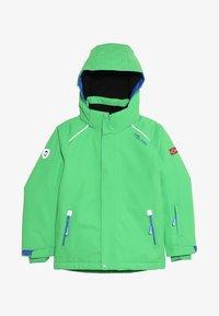 TrollKids - KIDS HOLMENKOLLEN SNOW JACKET PRO - Snowboard jacket - bright green - 6