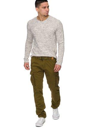 WILLIAM - Cargo trousers - green