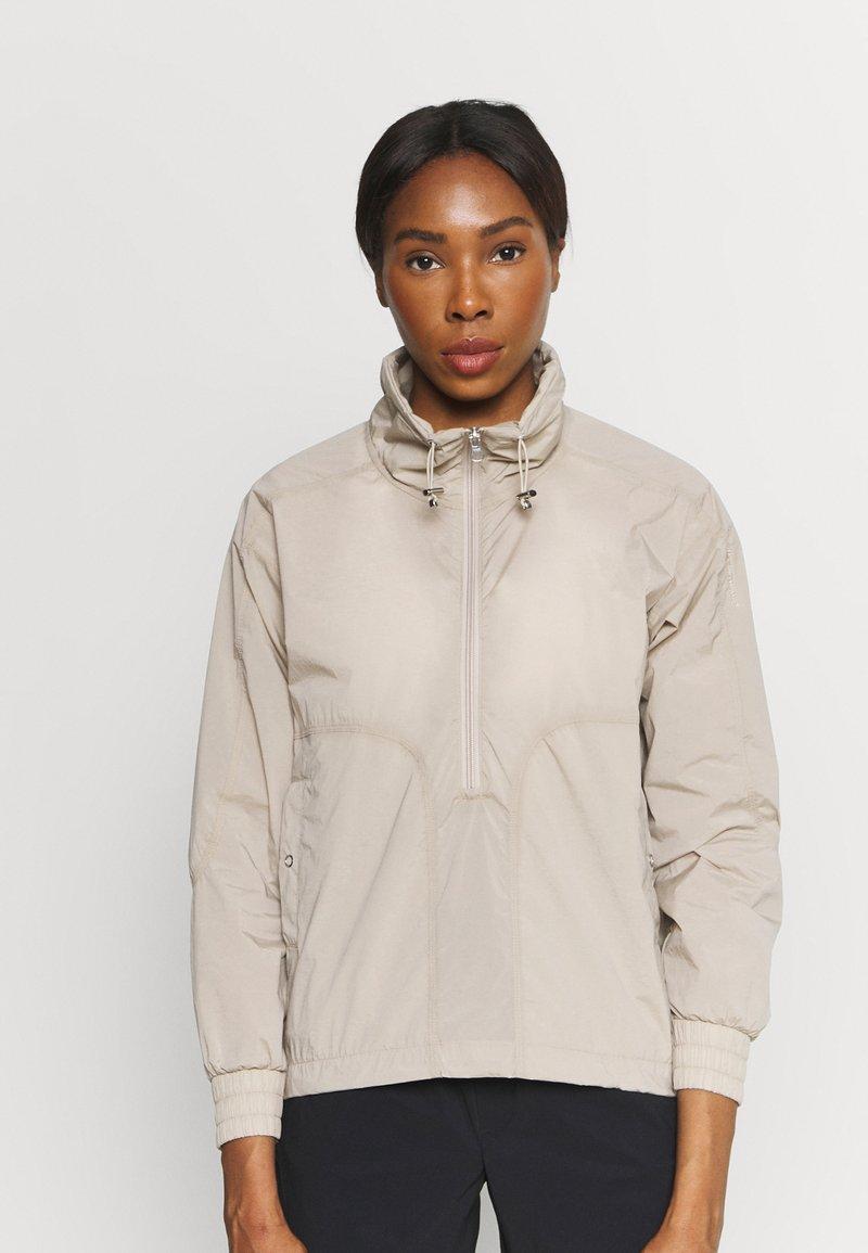 Peak Performance - HIT HALF ZIP - Outdoor jacket - celsian beige
