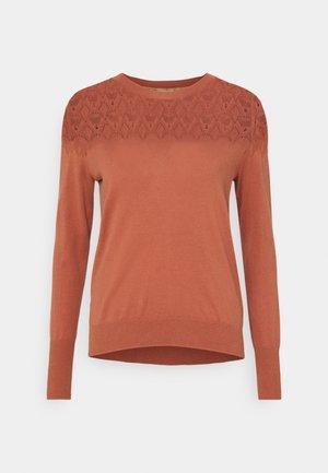 ESSENTIAL - Pullover - copper/brown