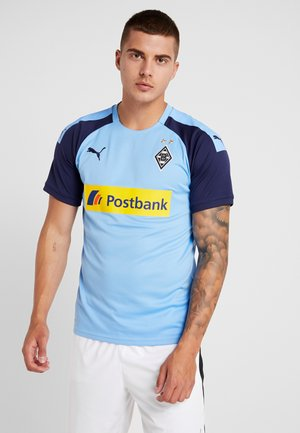 BORUSSIA MÖNCHENGLADBACH AWAY WITH SPONSOR - Club wear - team light blue/peacoat