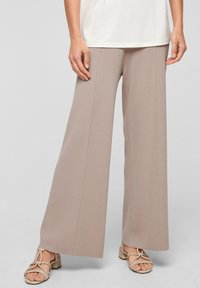 s.Oliver BLACK LABEL - Trousers - light grey - 0