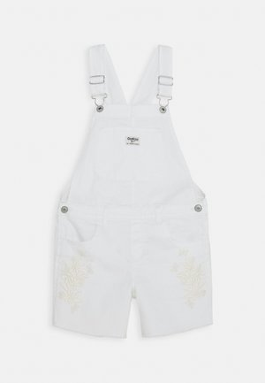 DUNGAREE TEENS - Lacláče - white