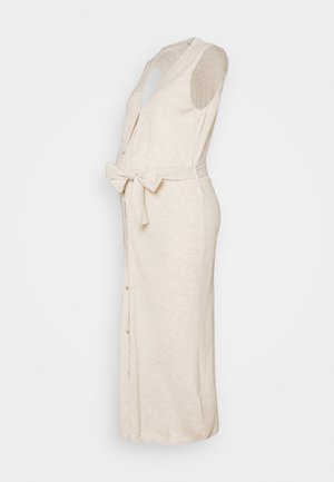 MLZIA LONG CARDIGAN - Vestido ligero - oatmeal