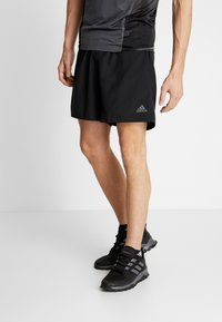 adidas Performance - RUN IT SHORT - Sportovní kraťasy - black - 0